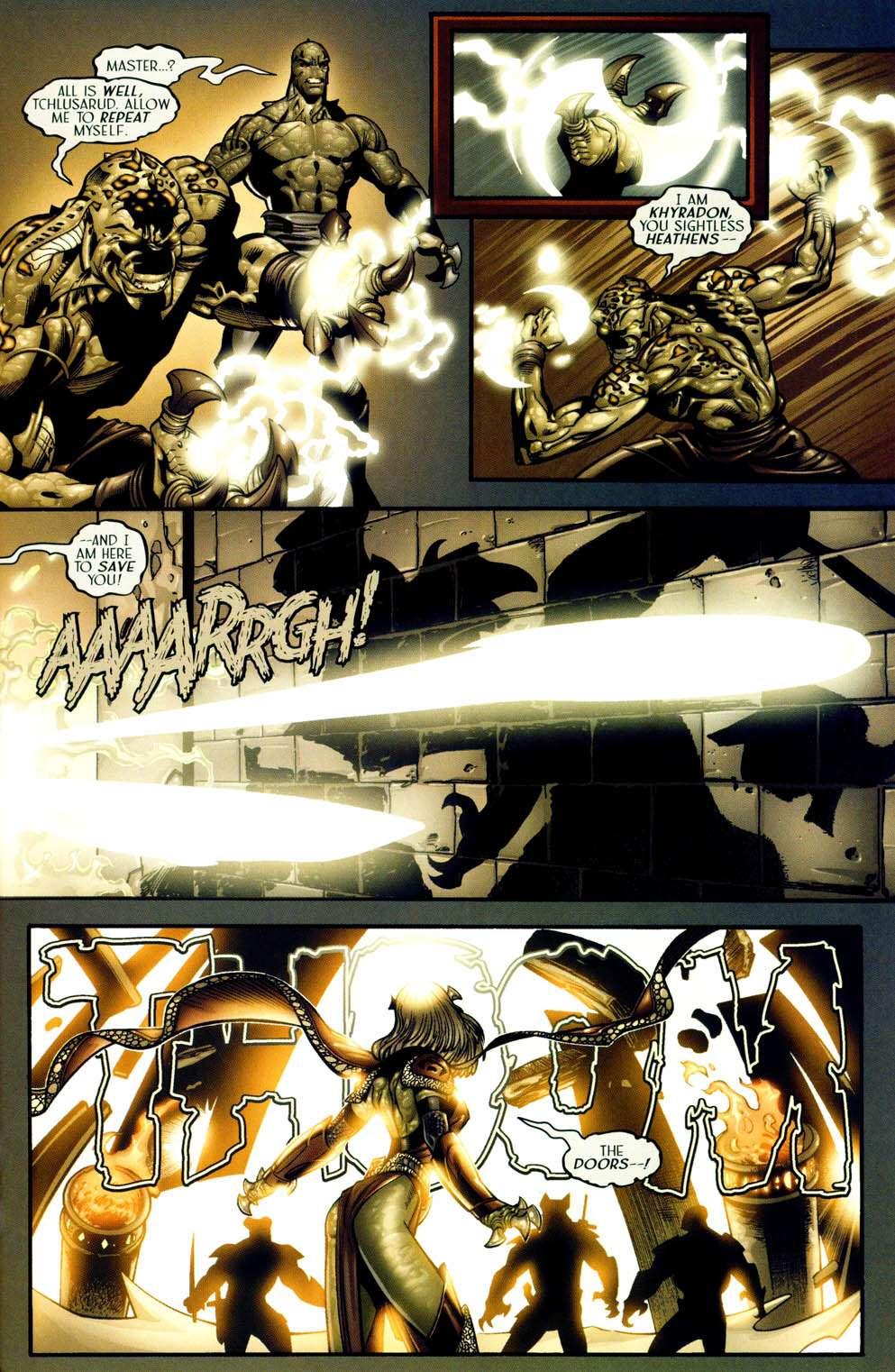 Read online Sigil (2000) comic -  Issue #13 - 9