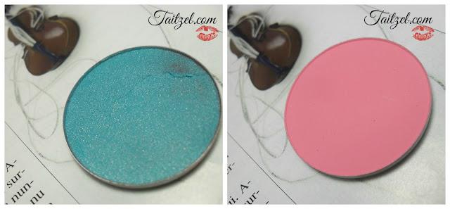 Fard pentru ochi Melkior: Emerald  si Sweet Pink