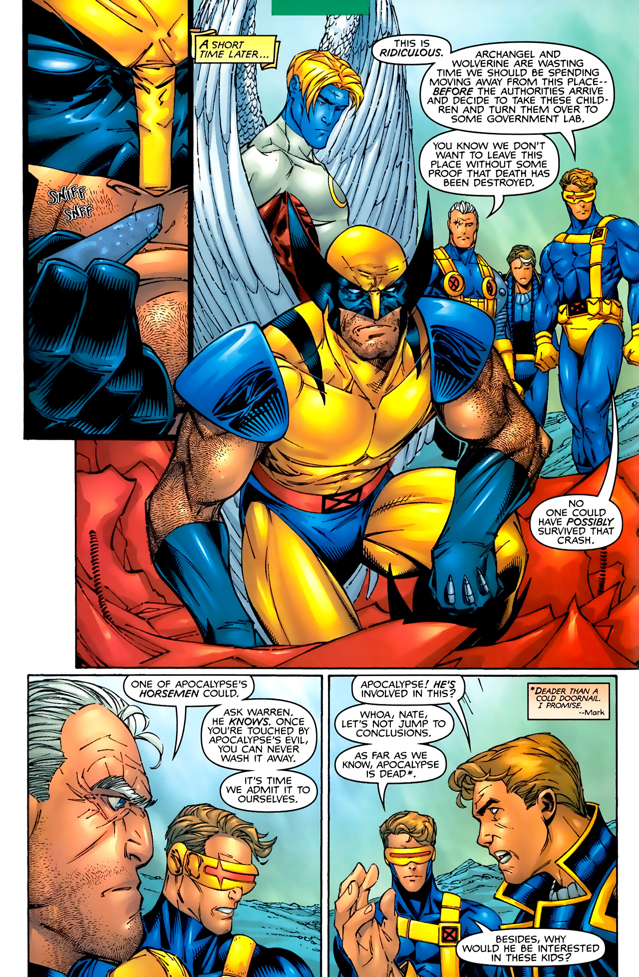 Read online Astonishing X-Men (1999) comic -  Issue #3 - 8