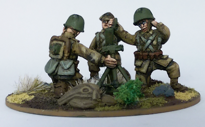 28mm Polish Medium Mortar Team World War Two 2 WW2