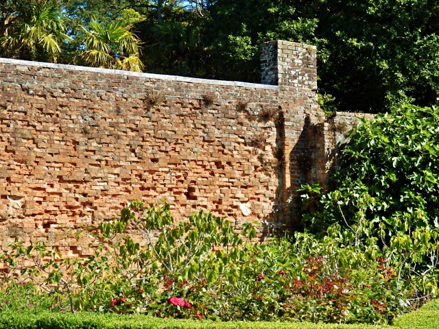 Ancient Walls at Lost Gardens of Heligan