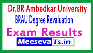 Dr.BR Ambedkar University Degree Revaluation Exam Results
