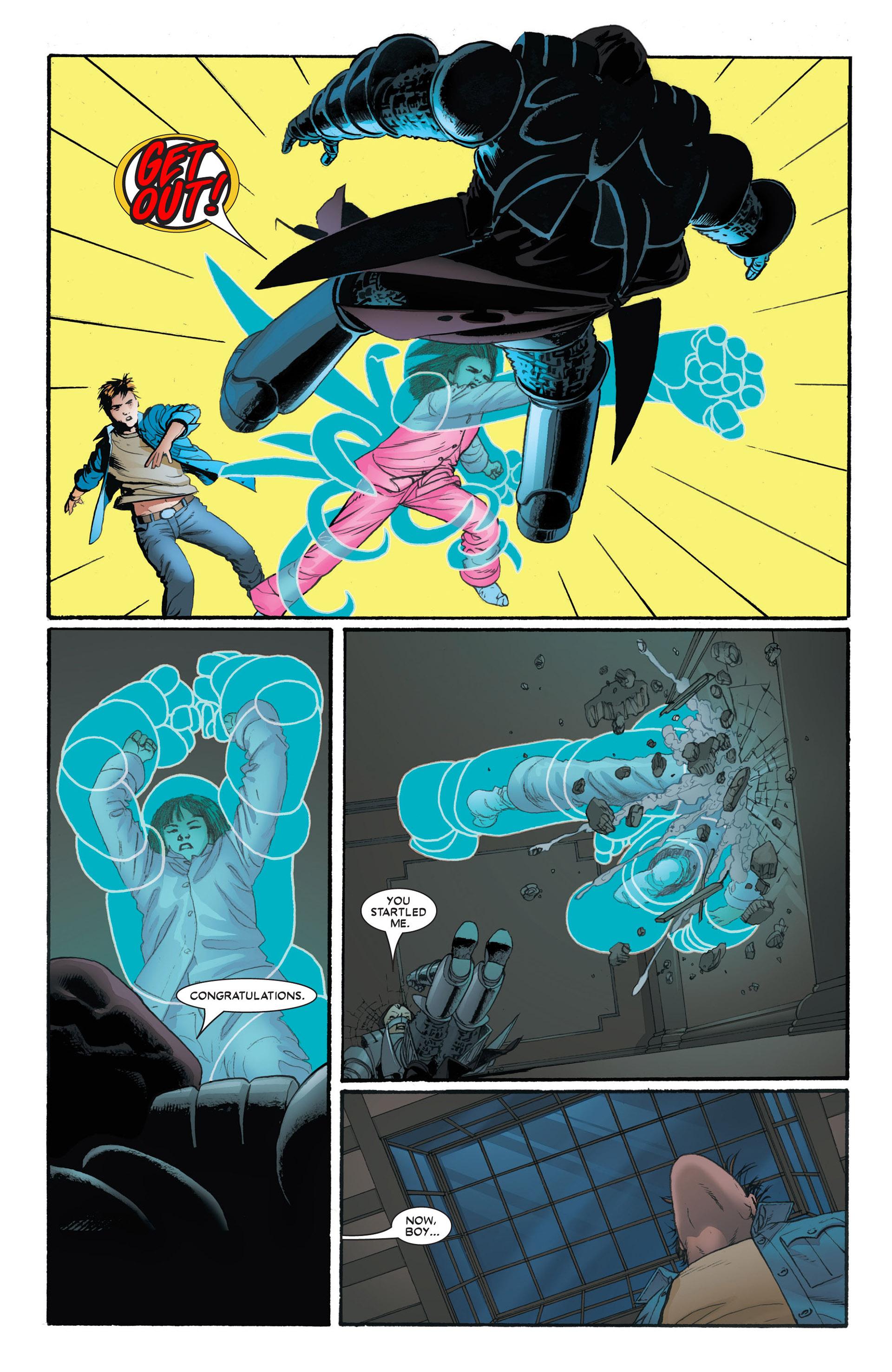 Read online Astonishing X-Men (2004) comic -  Issue #4 - 12
