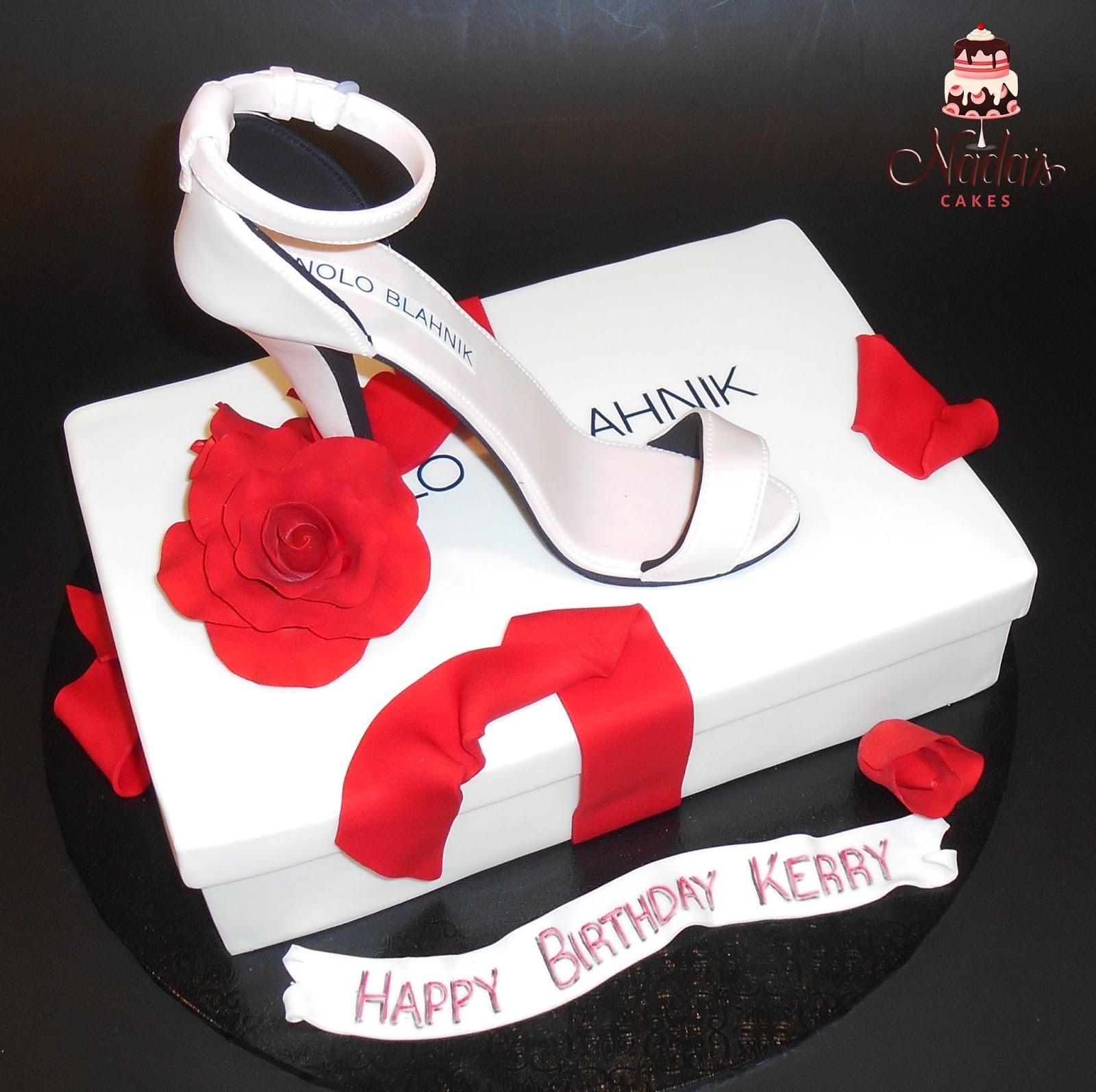 Sensational Nadas Cakes Bahnik Stiletto Birthday Cake Funny Birthday Cards Online Kookostrdamsfinfo