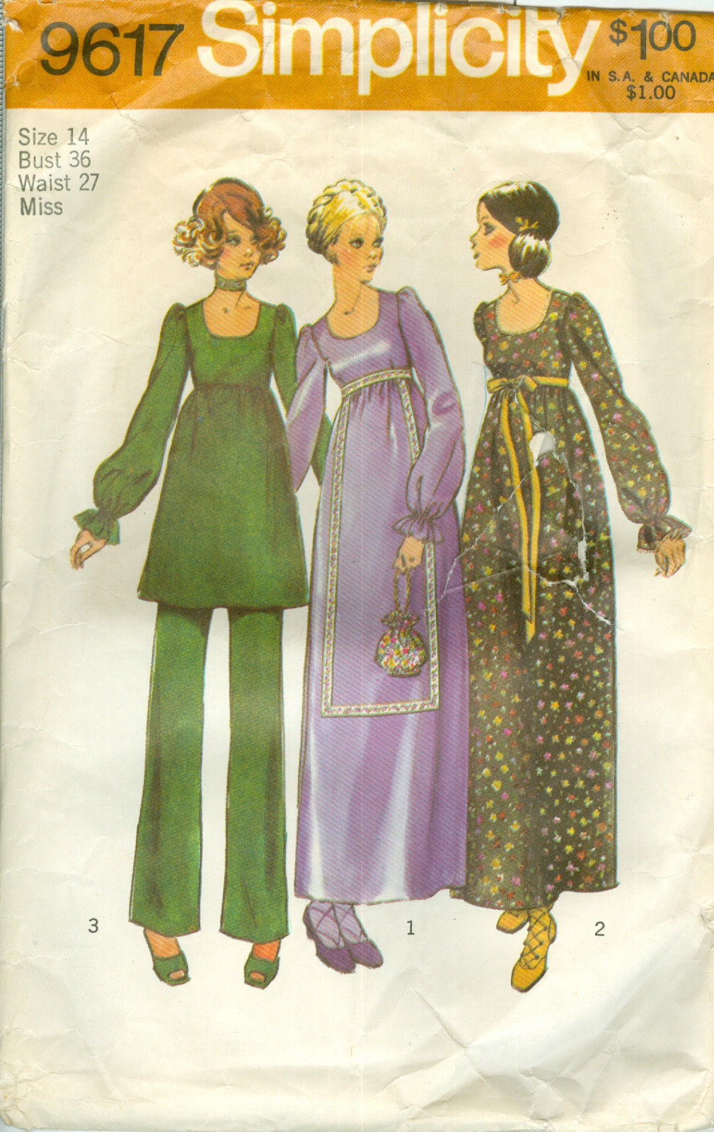 gold country girls: Patterns From The Past: Cute Simplicity