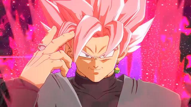 Dragon Ball FighterZ Goku Black