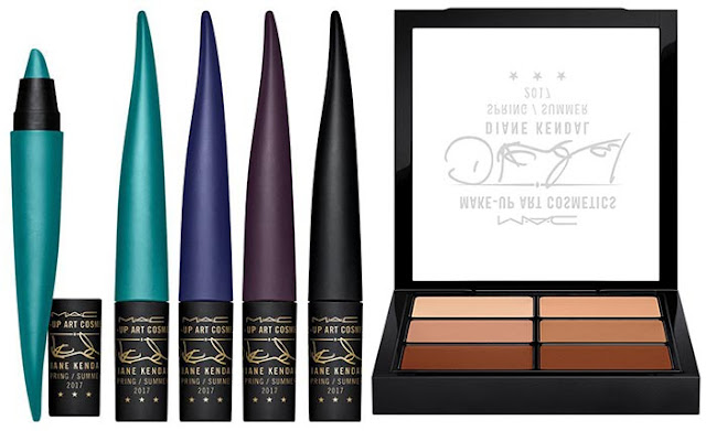 MAC x Diane Kendal Makeup Art Cosmetics Spring 2017 Collection