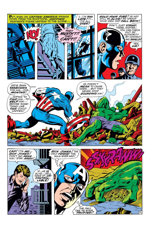 Read online Captain America (1968) comic -  Issue #110 - 6