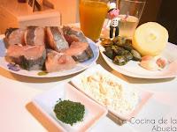 Merluza en salsa verde tradicional.
