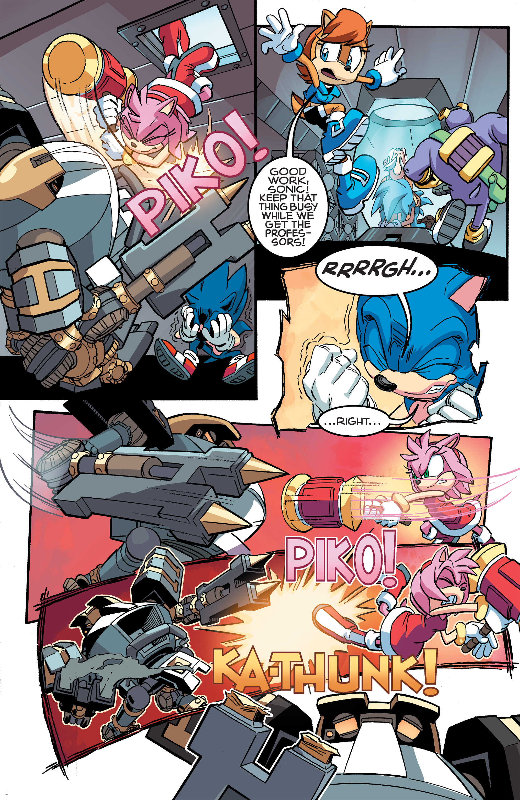 Read online Sonic The Hedgehog comic -  Issue #259 - 9