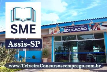 Concurso SME de Assis 2019 - Auxiliar de Desenvolvimento Infantil