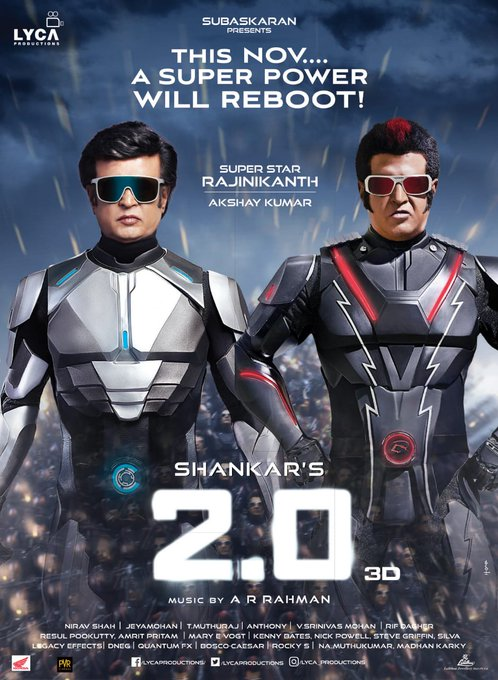 Robot 2.0 : Superstar Rajnikant