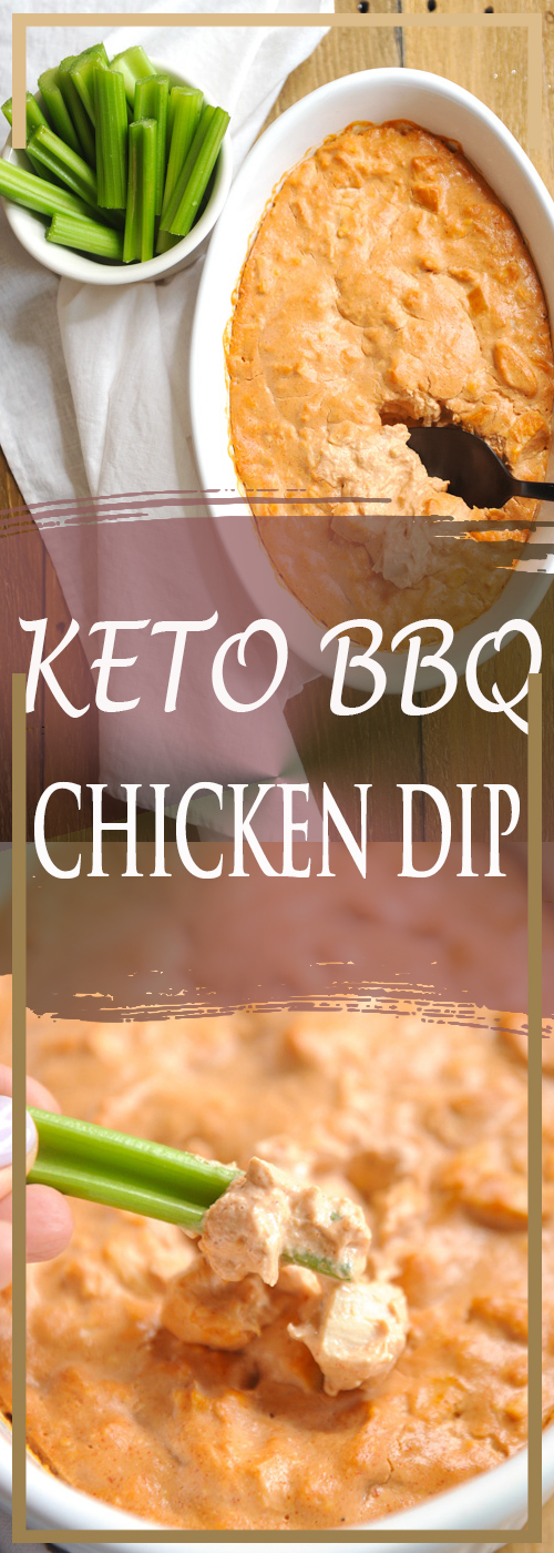 KETO BBQ CHICKEN DIP RECIPE