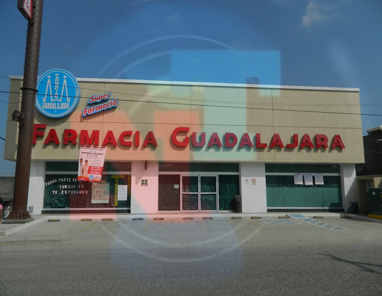 Farmacia Guadalajara cierran por temor a saqueó