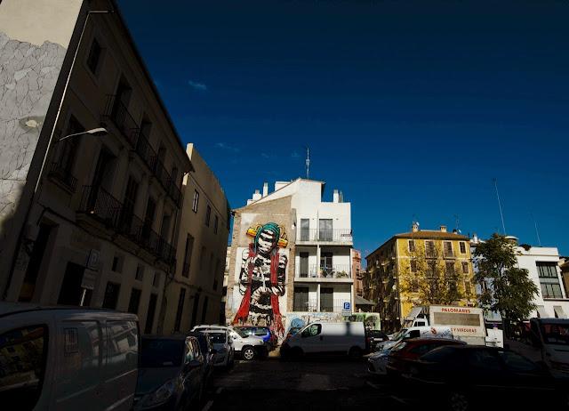 New Street Art Mural By Deih For Incubarte Urban Art Festival In Valencia, Spain. 2