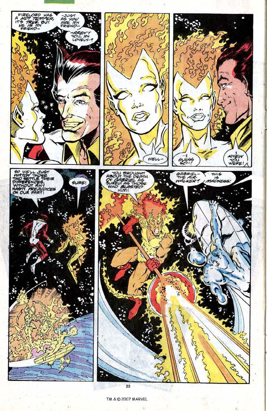 Read online Silver Surfer (1987) comic -  Issue #19 - 24