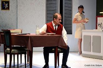 Théâtre : J'avais un beau ballon rouge - Une pièce d'Angela Dematté - Avec Romane et Richard Bohringer - Théâtre de l'Atelier - Paris 18 #MaPlaceEstDansLaSalle