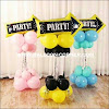 Balon Foil PANAH PESTA / Foil PARTY ARROW