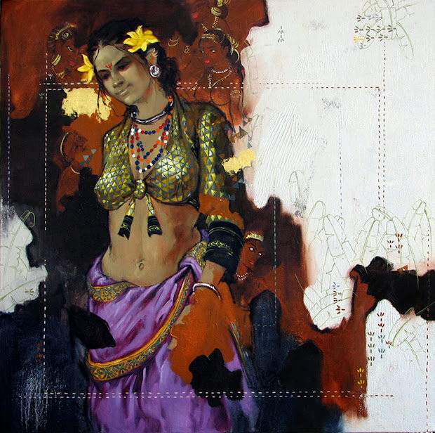 Mind-blowing Indian Woman Paintings Artist