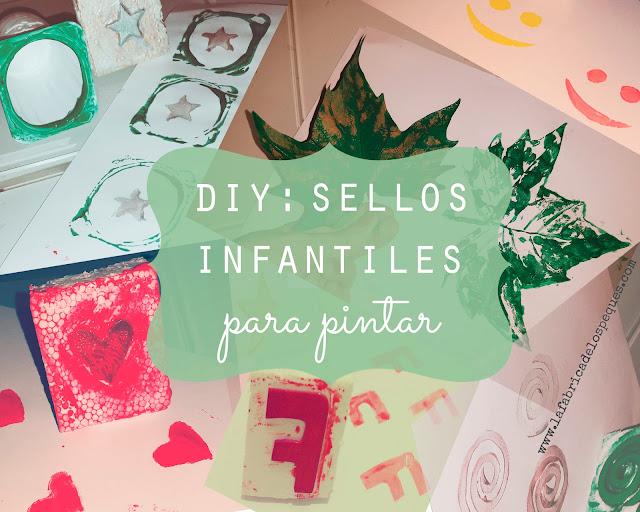 DIY: Sellos infantiles para pintar.