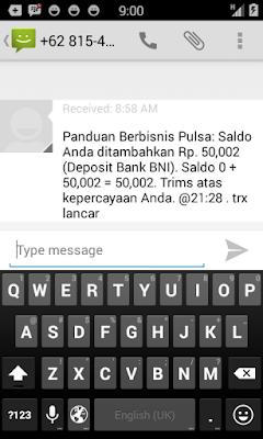 Tiket Deposit Pulsa Sukses