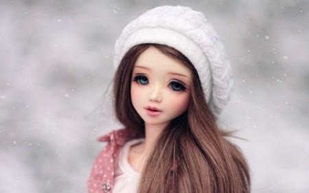wallpaper barbie doll