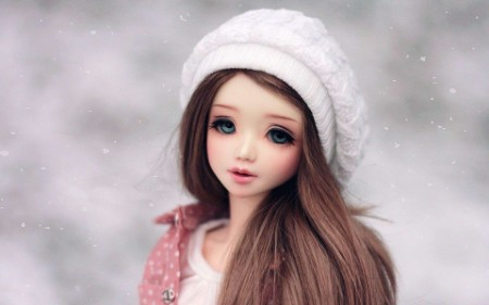 wallpaper barbie doll