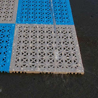 Greatmats perforated rooftop tiles