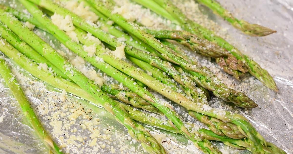 On The Flame: Garlic Roasted Asparagus