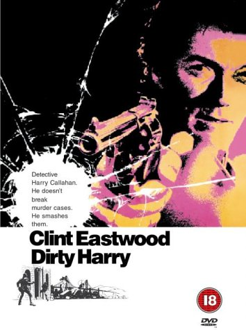 Classic films Dirty Harry DVD Cover