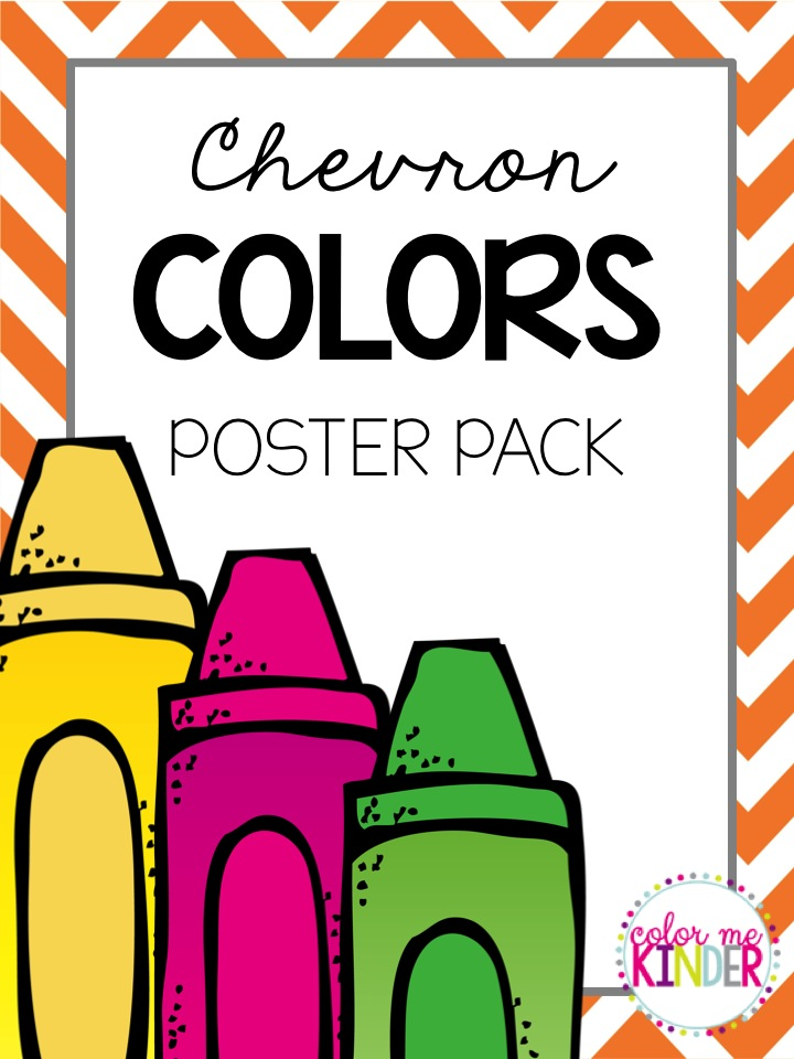 Chevron Colors Poster Pack