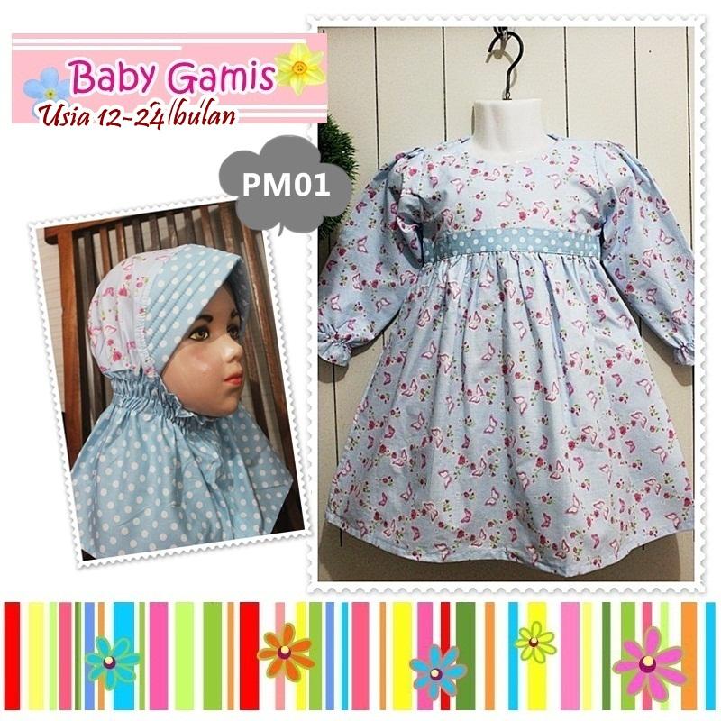 Whitelily Grosir Baju Anak Perempuan Babygamis Baju