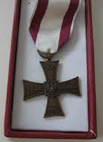 Polish Medal - Cross of Valour - a sample of various types awarded by Polish Government