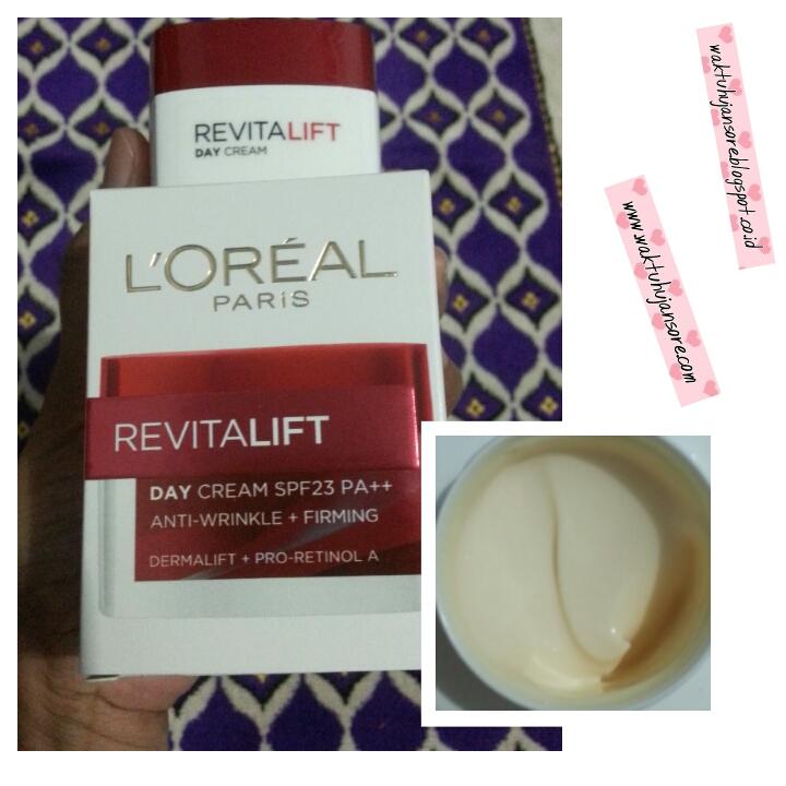 Waktu Hujan Sore: Review loreal revitalift day cream and