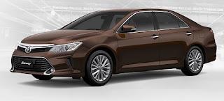 Harga Toyota Camry Dark Brown Metallic di Pontianak