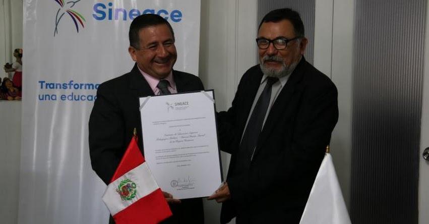 ISEPP «Marcos Durán Martel» de Huánuco recibe acreditación del SINEACE - www.sineace.gob.pe