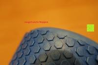 ausgefranzte Noppen: High Pulse Pilates-Rolle – Die multifunktionale Schaumstoff-Rolle ideal zur Massage, Gymnastik und Muskelkräftigung, 90x15cm