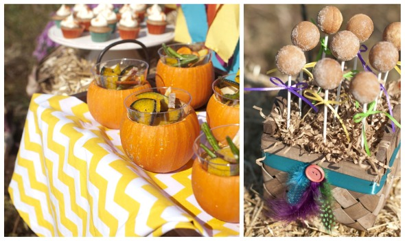Kara's Party Ideas Fall, Harvest, Rustic Thanksgiving