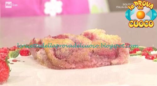 Clafoutis di fragole cocco e lime ricetta Moroni da Prova del Cuoco