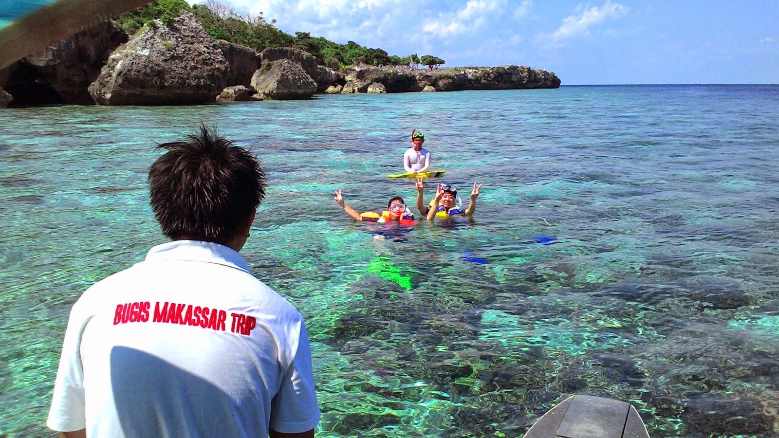 Snorkling di Pulau Kambing