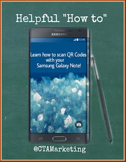 How to scan QR Codes with Samsung Galaxy Note