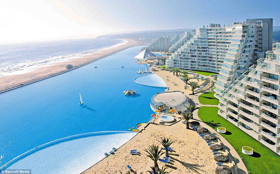 world news media22 news worlds largest pool which cost
