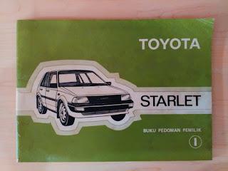 www.djejakmasa.blogspot.com -  Pedoman Pemilik Toyota Starlet Kotak EP70/71