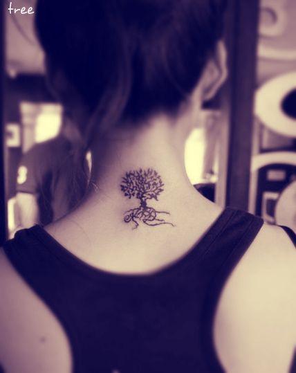 Tatuomania Minimalistyczny Tatuaż Upodobanie Do Prostoty