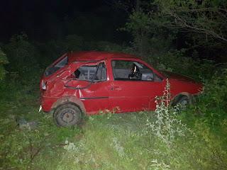Bebê morre e seis pessoas ficam feridas em capotamento de carro na BR-304, no RN