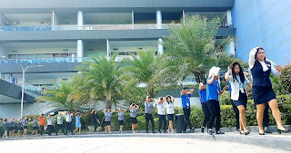 1st NATIONAL EARTHQUAKE DRILL SIMULATION IN SM BULACAN MALLS