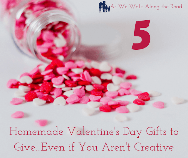 Homemade Valentine's Day Gifts to Give