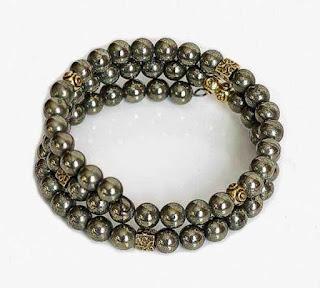 Pyrite Wrap Bracelet