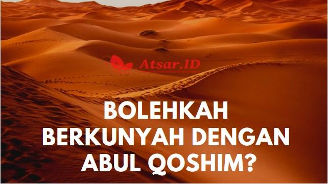 Hukum Memiliki Kunyah Abul Qasim, Seperti Rasulullah