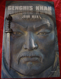 Portada del libro Genghis Khan, de John Man